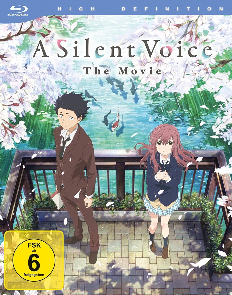 Anime auf Blu-ray (03/2018)